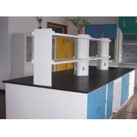 China Ceramic board countertop laboratory bench  furniture for hospiatl lab on sale