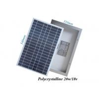 Quality RV Boat Greenhouse PV Solar Panels 25 Watt UV - Resistant Silicone Material for sale