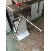 Quality 304SUS Stainless Steel Semi automatic Vertical Tripod Turnstile with Anti jump Alarm Light for sale