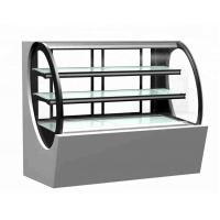 China Commercial Cake Display Showcase Glass Bakery Display Cabinet Refrigerator Showcase on sale