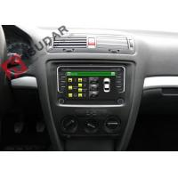 Quality Wince System VW Car DVD Player With Usb Skoda Car Stereo Built In IPod 800M CPU for sale