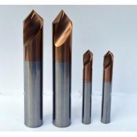 Quality 90 Degree Chamfer End Mill With 10mm Diameter 75mm Length AlTiN Coating for sale