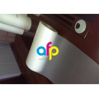 Quality Custom Size Polyester Laminating Film , 18 - 250 Micron Thermal Matte PET Film for sale