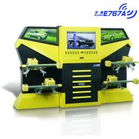 Quality E767A Yellow CCD 3excel Wheel Aligner , Automotive Four Wheel Tire Alignment Computerized for sale