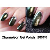 Quality Color Changing Chameleon Nail Paint UV Neon Gel Nail Polish Durable No Crick for sale