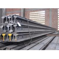 Quality High Tensile Strength Train Track Steel , Base Dimension 79.37mm Railway Track Material for sale