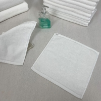 Buy cheap 60g/Pc White Cotton Face Towel from wholesalers