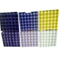Quality ECO friendly Colored 30 holes paper pulp chicken egg trays custom printing color for sale