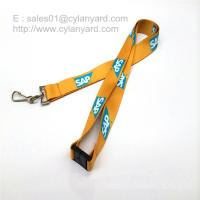Quality Safety breakaway neck lanyard with sublimated full color print for sale