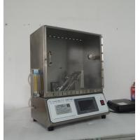 Buy cheap SL-S19 45 Degree Flammability Testing Equipment for Toys Test from wholesalers