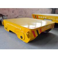 Quality Motorless 25t forklift towed rail transfer cart on turning rails for sale