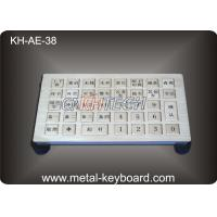 Water proof Metallic Industrial Keyboards IP65 For Parkingcontrol system