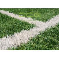 Quality Fire resistance Artificial Grass Football 15 - 70mm Height 3 / 4'' for sale