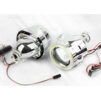 Buy Aluminum 2.5 inch COB Projection LED Headlights , H4 Motorcycle Headlight Projector Lens at wholesale prices
