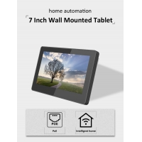 Quality 7 Inch Industrial No Battery Wall Recessed Android Touch Screen Integrated LED Light Tablet PC for sale