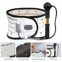 White - Leawell Decompression Back Belt With FDA Approved Waitst 29-49''