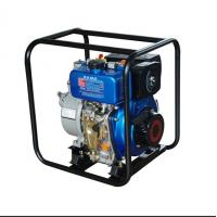 Quality 5.5L Fuel Tank 3600 Rpm 4'' Water Pump , High Pressure Diesel Water Pump for sale