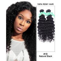 Quality Wavy Brazilian Hair Extensions 100 Real Human Hair , Virgin Weave Hair Extension For Fine Hair for sale