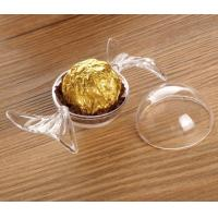 Buy cheap empty round box safe food grade candy plastic packaging from wholesalers