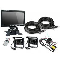 """Quality HD Waterproof IP67 Rugged Truck Trailer Reverse Camera With Colour 7"""" LCD Monitor for sale"""