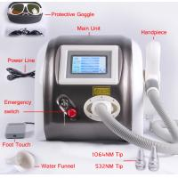 Quality 1064nm 532nm Laser Pigment Removal / Tattoo Removal Machine Multifunction 1000mj for sale