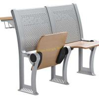 Quality Fireproof Plywood Metal Folding Chairs For Lecture Hall With Durable Construction for sale