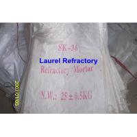 Quality Unshaped Refractory Mortar Series , Basic / Acidic Refractories for sale