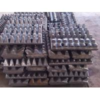 Quality Stone Slag Crusher Machine / Tooth Plate Small Error High Temperature Resistance for sale