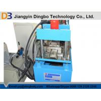 Buy cheap Hydraulic Cutting Steel Plate Roller Shutter Door Frame Cold Roll Forming Machine from wholesalers