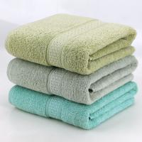 Quality Turkish Style Velour Cotton Bath Towels Custom Simply Soft And Lasting Color for sale