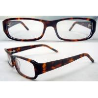 Quality Mens / Womens Acetate Retro Leopard Glasses Frames For Reading Glasses for sale