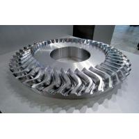 Quality Metal Material Impeller Parts With 5 Axis Machining Faster Cutting Speed for sale