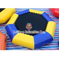 Quality Waterproof Inflatable Water Toys , Inflatable Sea Trampoline For Sea Party for sale