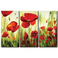 Quality art flower art painting office wall decoration for sale