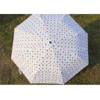 Quality UV Protection Windproof Folding Umbrella Strong Small Umbrella Plastic Handle for sale