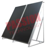 Quality Solar Thermal Flat Plate Collectors Blue Coating for sale