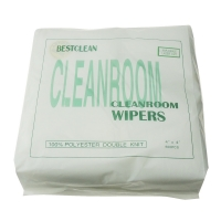 "Quality 9x9"" Polyester Cleanroom Microfiber Wiper 140gsm Non Woven for sale"