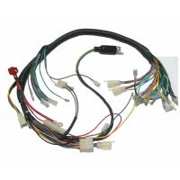 Quality 18 AWG Motorcycle Custom Wiring Harness , JST Connector Cable And Harness Assembly for sale