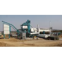 Quality Fixed Type Asphalt Batching Plant 2 Stage Duster 50T Hot Aggregate Storage Bin for sale