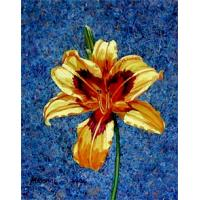 Quality wall clock hanging painting flower wall art for sale