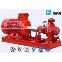 Quality NFPA20 Package End Suction Fire Fighting Pump System 141~102 PSI for sale