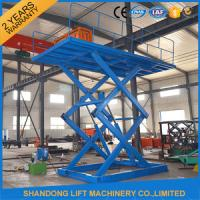 Quality 5 ton 5M Constraction Stationary Scissor Lift Table 380v / 2.2kw or 220v for sale