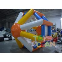 Quality Floating Inflatable Water Game Inflatable Hamster Wheel Water Roller for sale