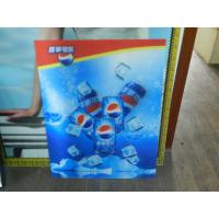 Quality PS lenticular material large size 3d poster large format lenticular advertising poster 3d flip printing for sale