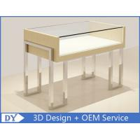 Quality Veneer Original Color Retail Shoe Display Shelves For Luxury Shopping Mall for sale