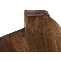 Quality Pre - Bonded Clipping In Hair Extensions Full Head Real Human Hair for sale