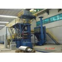 Quality Abrasive Recycle System Wire Mesh Belt Shot Blasting Machine Customized Color for sale