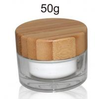 Quality 50ml nature bamboo Jar for sale