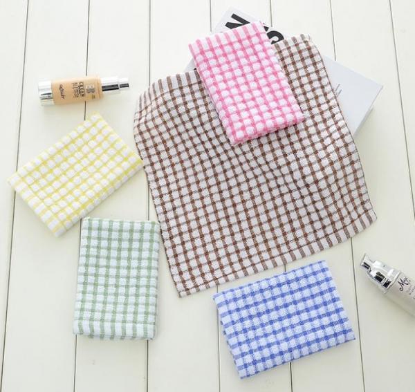 Bulk Dish Towels For Sale: 6 Colors Custom Plain Tea Towels , Eco
