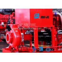 Quality 300GPM@110PSI Centrifugal Fire Pump 254 Feet With 42.5KW Max Shaft Power for sale